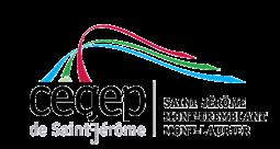 Logo Cégep de Saint-Jérôme, partenaire des Incroyables Comestibles Rivière-du-Nord