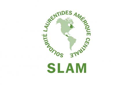 Logo SLAM, partenaire des Incroyables Comestibles Rivière-du-Nord