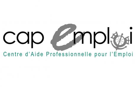 Logo Cap Emploi, partenaire des Incroyables Comestibles Rivière-du-Nord