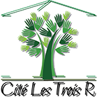 Logo Cité les trois R, partenaire des Incroyables Comestibles Rivière-du-Nord