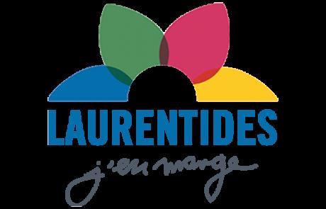 Logo Laurentides j'en mange, partenaire des Incroyables Comestibles Rivière-du-Nord