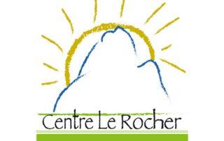 Logo Centre le Rocher, partenaire des Incroyables Comestibles Rivière-du-Nord