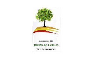 Logo Association des Jardins de Famille des Laurentides, partenaire des Incroyables Comestibles Rivière-du-Nord