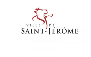 Logo ville de Saint-Jérôme, partenaire des Incroyables Comestibles Rivière-du-Nord